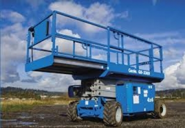 Genie GS 3369 RT Rough Terrain Scissor Lift