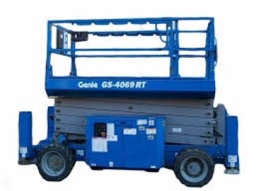 Genie GS 4069 RT Rough Terrain Scissor Lift