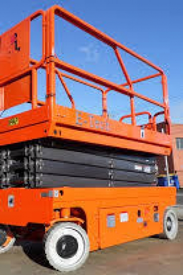 DINGLI E-TECH S0812-E SCISSOR LIFT