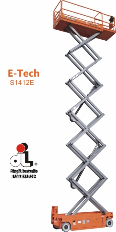 DINGLI E-TECH S1412-E SCISSOR LIFT