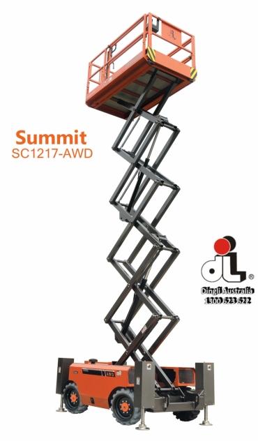 Dingli Summit SC1217-AWD Rough-Terrain Scissor Lift